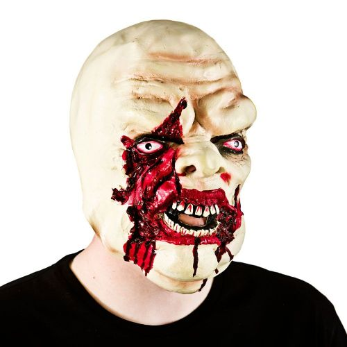 Adult Unisex Bloody Zombie Mask (Adult) Masquerade for Disguise Fancy Dress